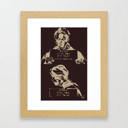 Folsom Prison Blues Sam Framed Art Print