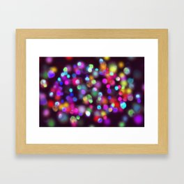 magic spots Framed Art Print