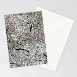 Geometric Explosion JL Stationery Cards