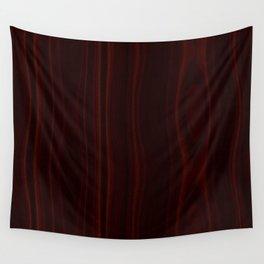Mahogany Wood Texture Wall Tapestry