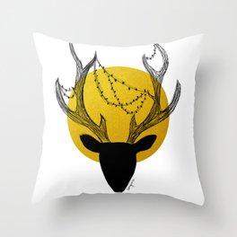 merry x mas Throw Pillow