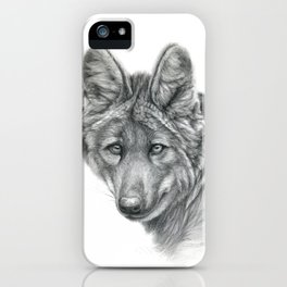 Maned Wolf G040 iPhone Case