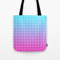 gradient Tote Bags featuring Gradient by aesthetically