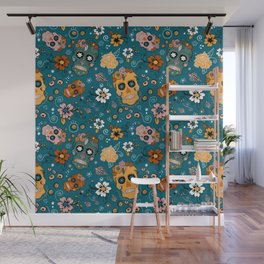 Sugar Skull Party Wall Mural