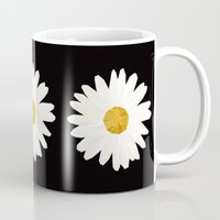 daisy Mugs featuring Daisy by nessieness