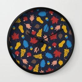 Autumn story Wall Clock