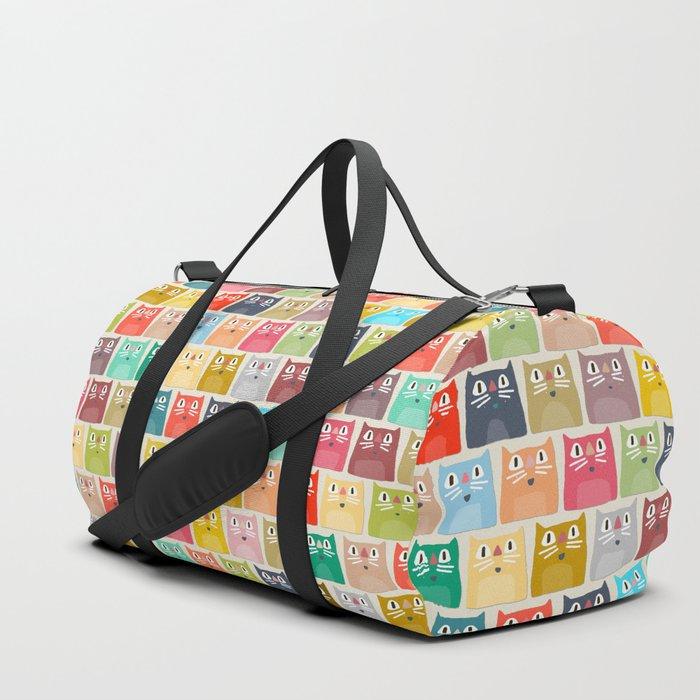 summer cats Duffle Bag