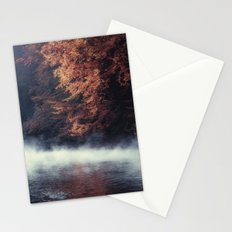 Nature's Mirror - Fall on the River Stationery Cards