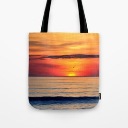Henne Strand Sunset Tote Bag