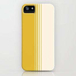 Marigold & Crème Vertical Gradient iPhone Case