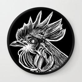 Cock's Head Wall Clock