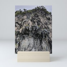 Rocky Terrain   Lush Surroundings   Nature   Outdoors Mini Art Print