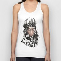 medicine Tank Tops featuring Medicine Man by Adam Levene