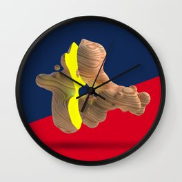 Wood Day 2 Wall Clock