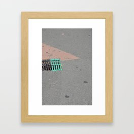 Tiangle Framed Art Print