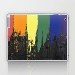 Rainbow Paint Laptop & iPad Skin