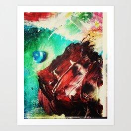 Deliberate Palette Art Print