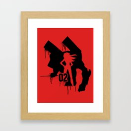 Asuka (Eva Unit-02) Framed Art Print