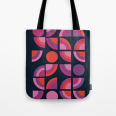 Outta Sight - 70s retro throwback trendy vintage style geometric 1970's Tote Bag