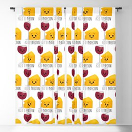 Aged To Perfection - Wine & Cheese Blackout Curtain
