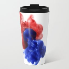 Patriotic Ink Drop Travel Mug