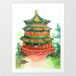 Summer Palace Art Print