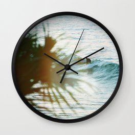 Print 406 - Surfer Wall Clock