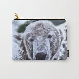 Animals and Art - Polar Bear Carry-All Pouch