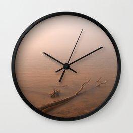 Misty Chesapeake Bay Wall Clock