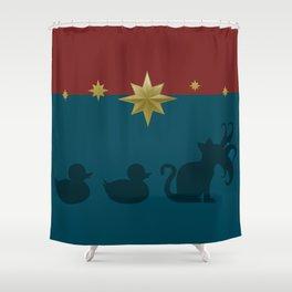 Duck, Duck, Goose! Shower Curtain