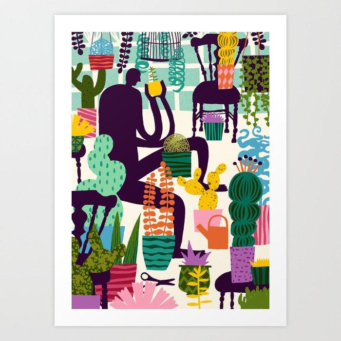 Natural Recall poster design Art Print