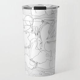 The Fallen - b&w Travel Mug