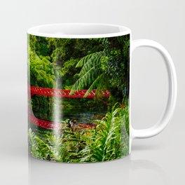 Red Bridge in the Park Coffee Mug