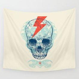 Skull Bolt Wall Tapestry