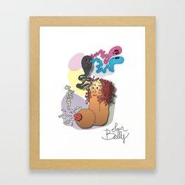 Sour Belly Framed Art Print