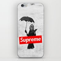 supreme iPhone & iPod Skins featuring The Supreme by Dandy
