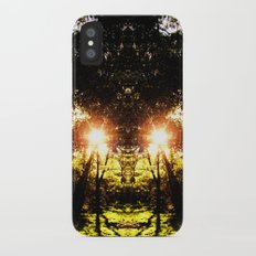 DMT Ferntree Forest iPhone X Slim Case