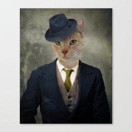 Detective Roscoe Canvas Print