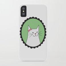 Kitty iPhone X Slim Case