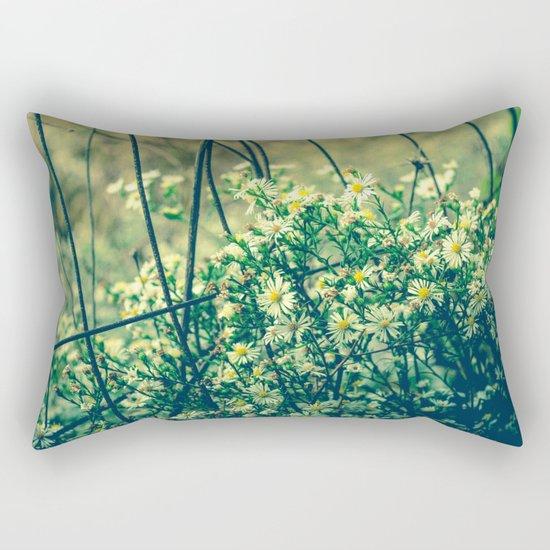 Bloom With Wild Abandon Rectangular Pillow