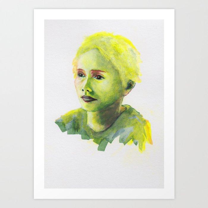Petites têtes 18 Art Print