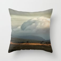 Red earth Throw Pillow