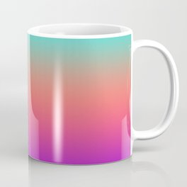 Sunset shades on the sea Coffee Mug