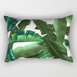 tropical banana leaves pattern 2 Rectangular Pillow