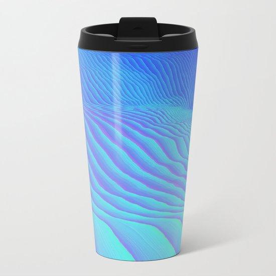 Sand Ripples Metal Travel Mug