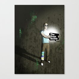 The Trash Society artwork Canvas Print