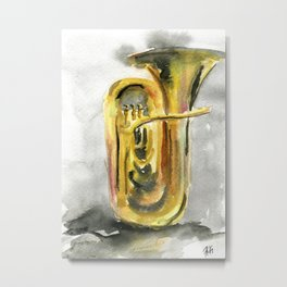Solo tuba Metal Print