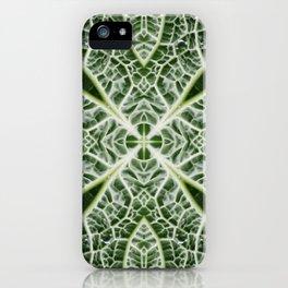 VeggieMandala Cabbage 9 iPhone Case