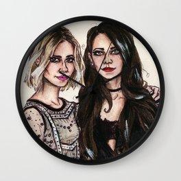 Sarah x Lana Wall Clock