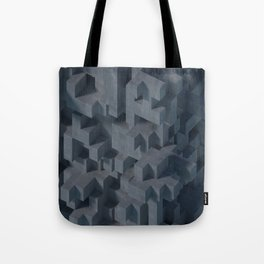 Concrete Abstract Tote Bag